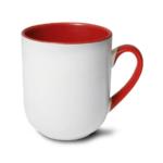 Mały kubek z czerwonym wnętrzem 290 ml